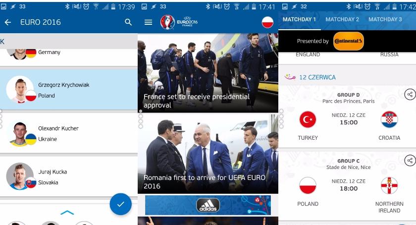 Najprzydatniejsze aplikacje na Euro 2016