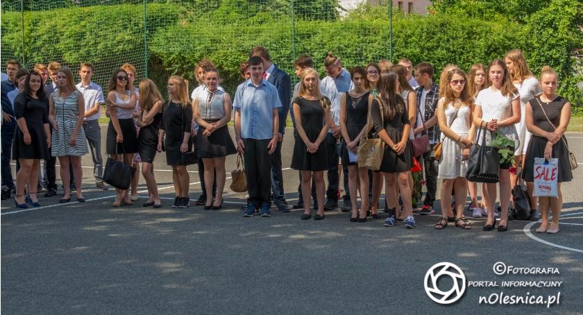 Zakończenie roku w Gimnazjum nr 2 - VIDEO - FOTO