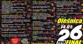 Już w najbliższą sobotę 26 Finał WOŚP w Oleśnicy