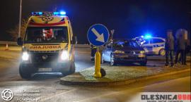 Wieczorny wypadek na Dobroszyckiej